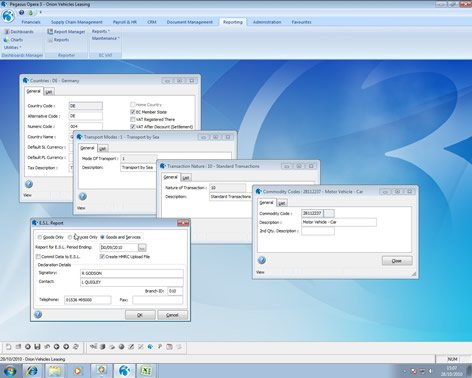 Pegasus Software EC VAT