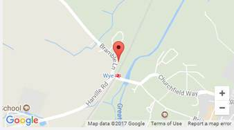 Map of the o-a-sys office, Wye, Kent